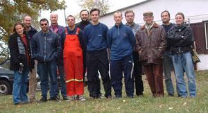 CQ WW SSB 2003 contest team