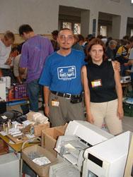 HAM amateur meeting in Holice 2003