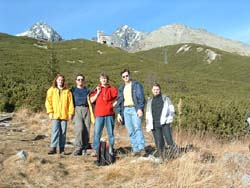HAM amateur meeting in Tatry 2003 - outing